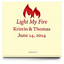 Personalized Matchbooks - Light My Fire