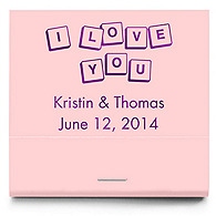 Personalized Matchbooks - Love Letters
