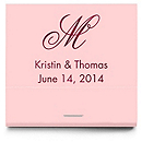 Personalized Matchbooks - Monogram