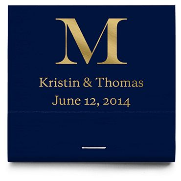 Personalized Matchbooks - Classic Monogram
