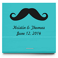 Personalized Matchbooks - Mustache