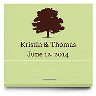 Personalized Matchbooks - Oak Tree