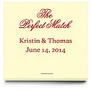 Personalized Matchbooks - The Perfect Match - Classic
