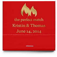 Personalized Matchbooks - The Perfect Match - Flame