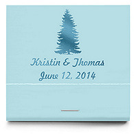 Personalized Matchbooks - Pine Tree
