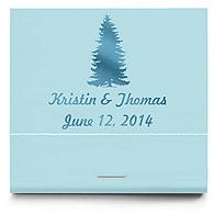 Personalized Matchbooks - Pine Tree