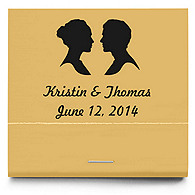 Personalized Matchbooks - Silhouettes