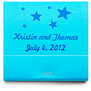 Personalized Matchbooks - Stars