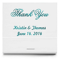 Personalized Matchbooks - Thank You Classic