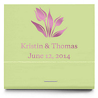 Personalized Matchbooks - Tulip
