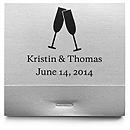 Personalized Matchbooks - Toasting Flutes