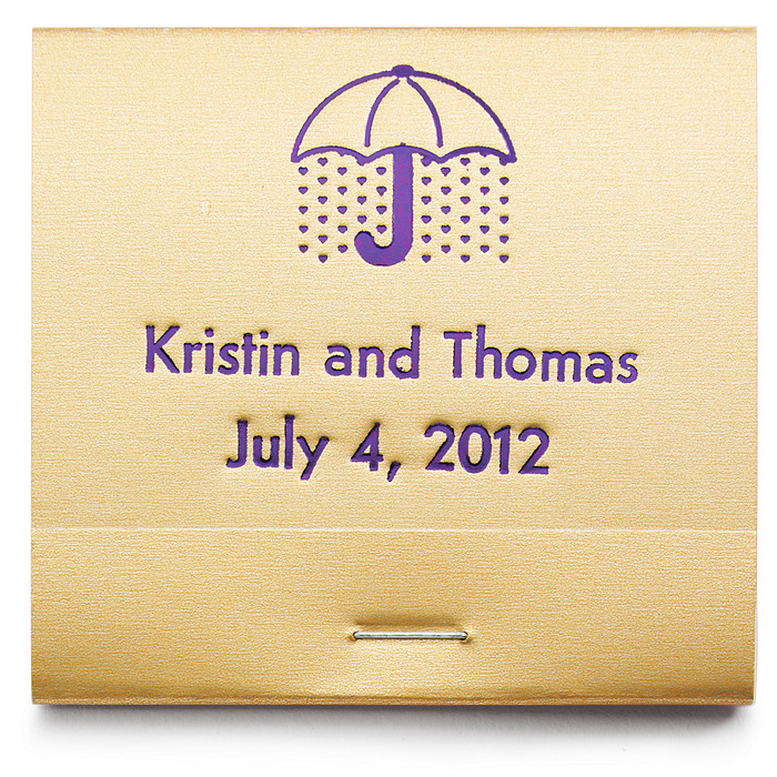 Personalized Matchbooks - Bridal Shower