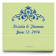 Personalized Matchbooks - Vintage Floral