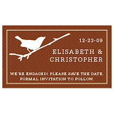Save the Date Magnets - Bird (Branch)