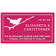 Save the Date Magnets - Bird (Punch)