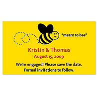 Save the Date Magnets - Meant to Bee