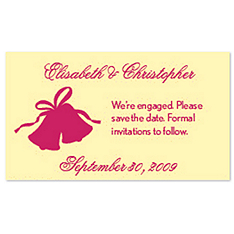 Save the Date Magnets - Wedding Bells