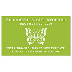 Save the Date Magnets - Butterfly