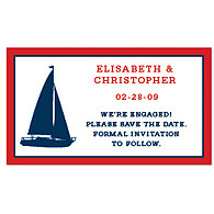 Save the Date Magnets - Sailboat