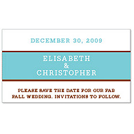 Save the Date Magnets - Brights (Blue)