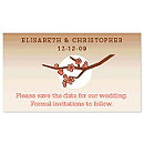 Save the Date Magnets - Cherry Blossom