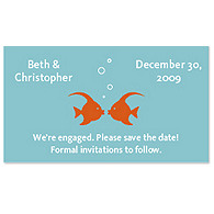 Save the Date Magnets - Kissing Fish