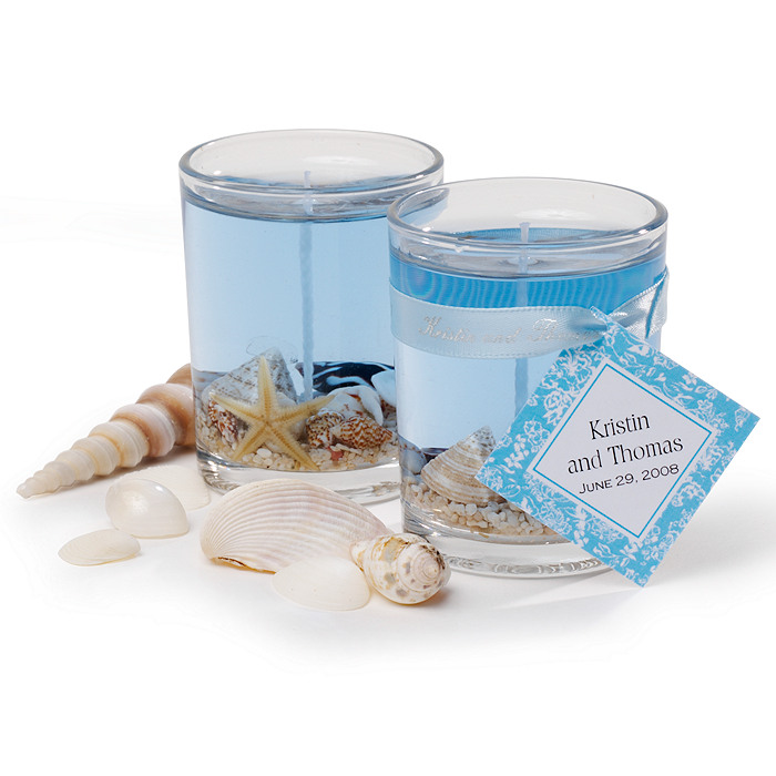 Beach Candle Favors