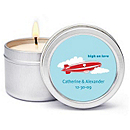 Personalized Soy Candle Favors - High on Love
