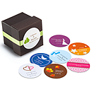 Personalized Round Favor Labels