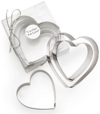 Heart Cookie Cutter Favor