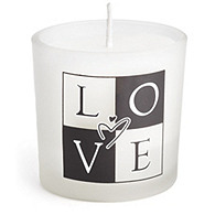 Love Candle Favor