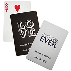 Personalized Deck of Playing Cards