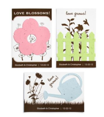 Seed Favors - Post Card