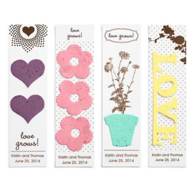 Seed Favors - Bookmark