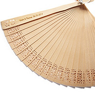 Personalized Sandalwood Fan