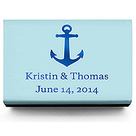 Personalized Matchboxes - Anchor