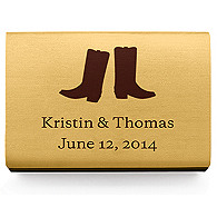 Personalized Matchboxes - Boots