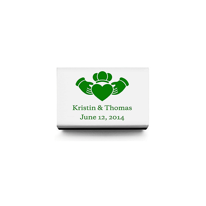 Personalized Matchboxes - Claddagh