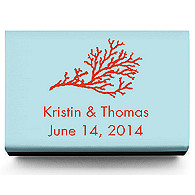 Personalized Matchboxes - Coral