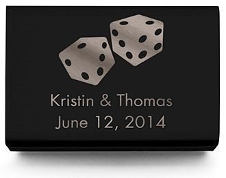Personalized Matchboxes - Dice