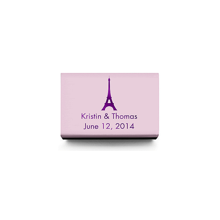 Personalized Matchboxes - Paris