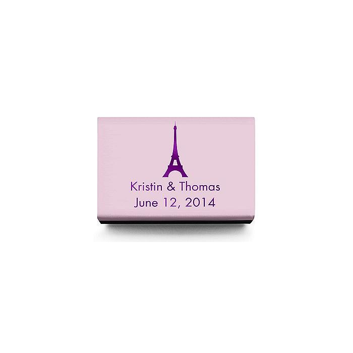 Personalized Matchboxes - Paris