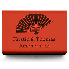 Personalized Matchboxes - Fan