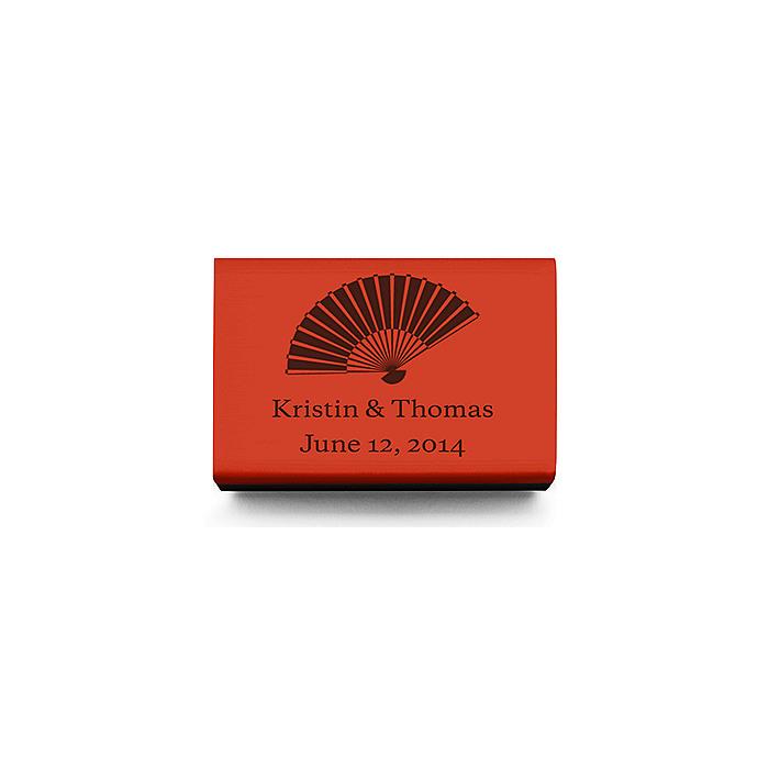 Personalized Matchboxes - Fan