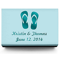 Personalized Matchboxes - Flip-flops