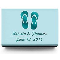 Personalized Matchboxes - Flip-flops