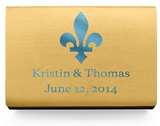 Personalized Matchboxes - Flourish