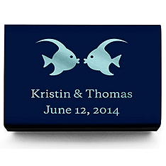 Personalized Matchboxes - Kissing Fish