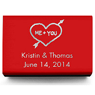 Personalized Matchboxes - Heart and Arrow