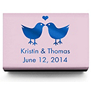 Personalized Matchboxes - Lovebirds